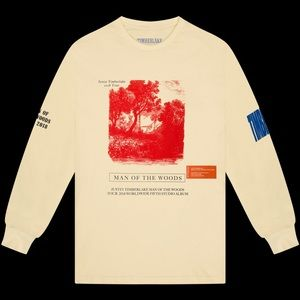 Heron Preston JT Man of the Woods Tour L/S